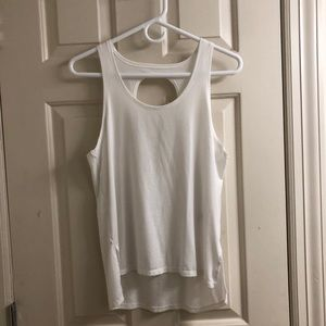 Athleta White Tank Top XS (discontinued)